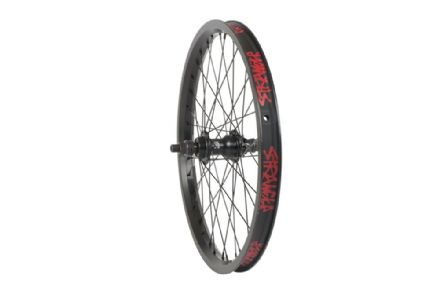 Stranger RHD Crux Cassette Rear Wheel - Black 9 Tooth
